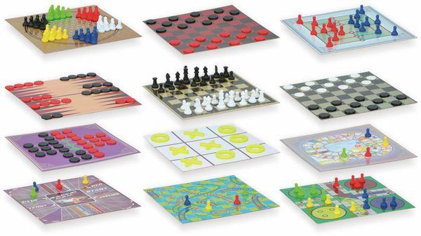 Brettspiel-Set Mini, 12in1 - Produktbild 2