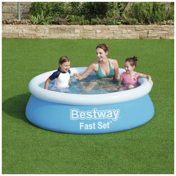 Planschbecken BESTWAY Fast Set Pool, 183x51cm, PVC - Produktbild 2