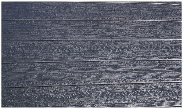 Klapptisch, VANAGE, 77x78x74 cm, schwarz, Holzoptik - Produktbild 2