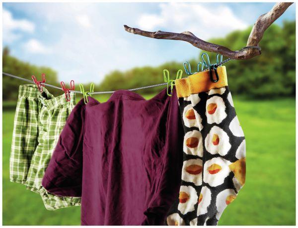 Reise Wäscheleine CALIMA mit 10 Klammern - Produktbild 2