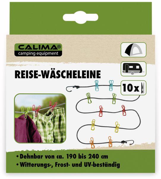 Reise Wäscheleine CALIMA mit 10 Klammern - Produktbild 4