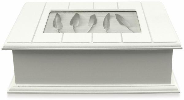 Holzschatulle mit Bilderrahmen, 240x170x74 mm - Produktbild 5