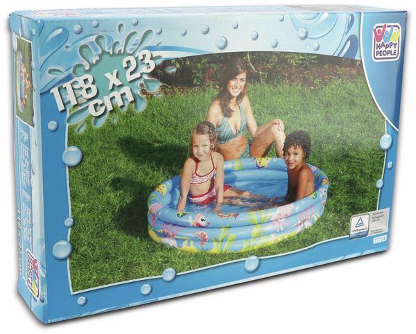 Planschbecken Happy People, 118 x 23 cm - Produktbild 2