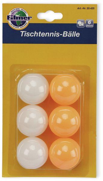 Tischtennisbälle, Filmer, 20425, 6Stück