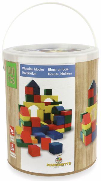 Holzbausteine, 100 Stück - Produktbild 2