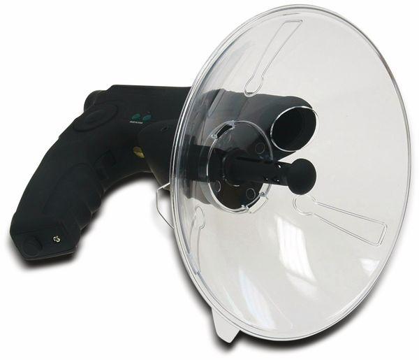 Parabol-Richtmikrofon CHILITEC PRM-1, mit Kopfhörer und Aufnahmefunktion - Produktbild 3