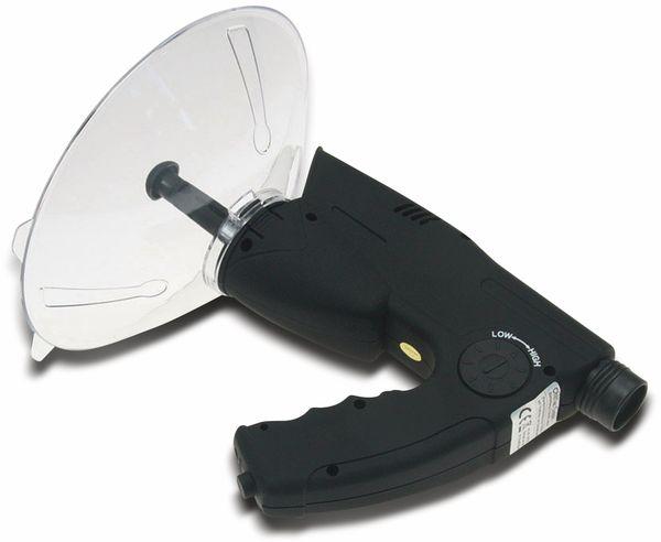 Parabol-Richtmikrofon CHILITEC PRM-1, mit Kopfhörer und Aufnahmefunktion - Produktbild 4