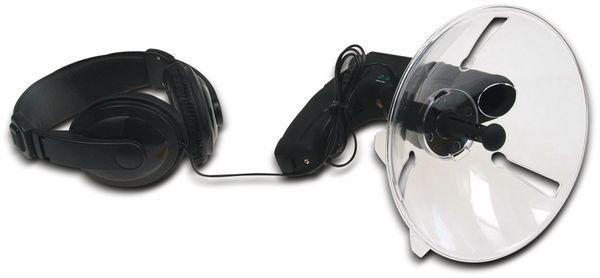 Parabol-Richtmikrofon CHILITEC PRM-1, mit Kopfhörer und Aufnahmefunktion - Produktbild 5
