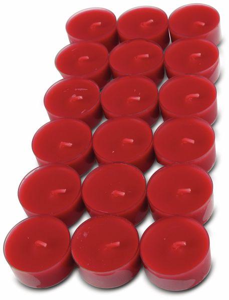 18er-Set Teelichter WIEDEMANN, PC Cup, rot, 4 Stunden