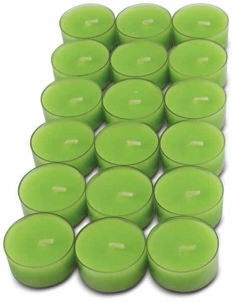 18er-Set Teelichter WIEDEMANN, PC Cup, grün, 4 Stunden