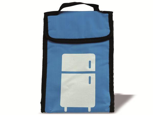 Kühltasche, 24x8x18 cm, blau