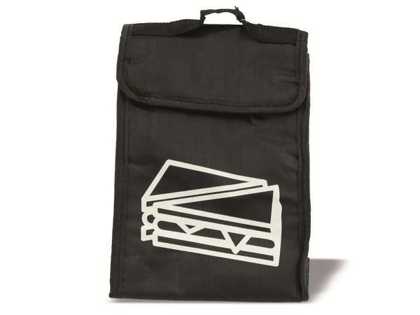 Kühltasche, 24x8x18 cm, schwarz