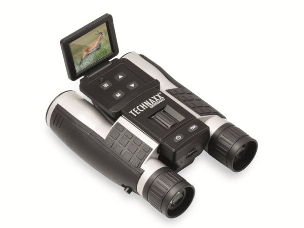Fernglas TECHNAXX TX-142, Full-HD, 4-fach Zoom und Farbdisplay