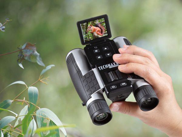 Fernglas TECHNAXX TX-142, Full-HD, 4-fach Zoom und Farbdisplay - Produktbild 5