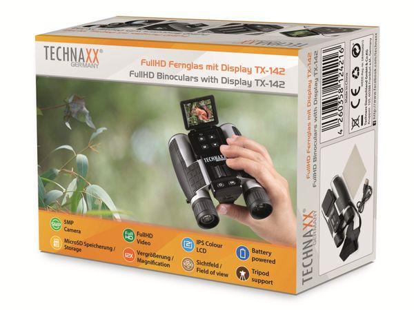 Fernglas TECHNAXX TX-142, Full-HD, 4-fach Zoom und Farbdisplay - Produktbild 6