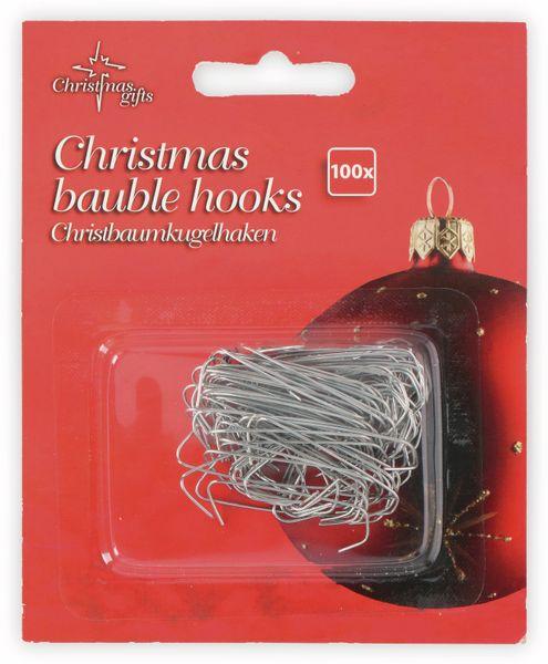 Weihnachtskugelhaken, 100 Stück