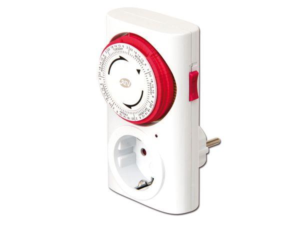 Mechanische Wochenzeitschaltuhr REV 0025410103 - Produktbild 1
