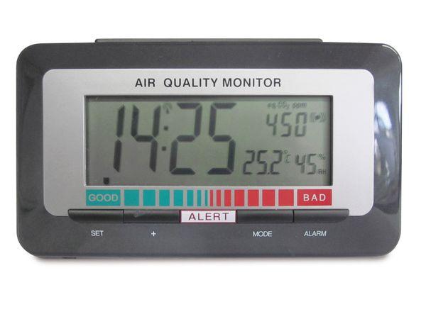 Funkwecker mit Luftqualitätsmonitor TFA 60.2527.10