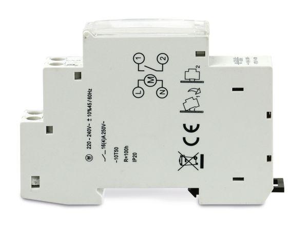 Zeitschaltuhr PERRY 17u, DIN-Schiene, 1-Kanal, analog - Produktbild 3