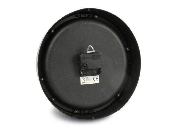Wanduhr 3D, 27 cm, schwarz - Produktbild 2
