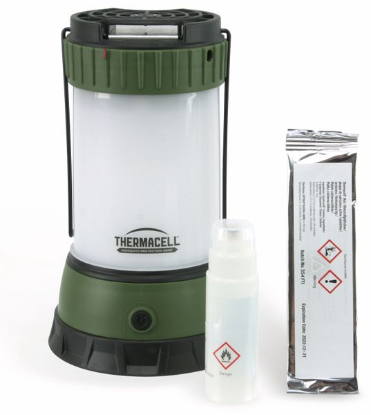 Thermacell MR-CLc, Stechmücken-Schutzgerät mit LED Camping Beleuchtung - Produktbild 1