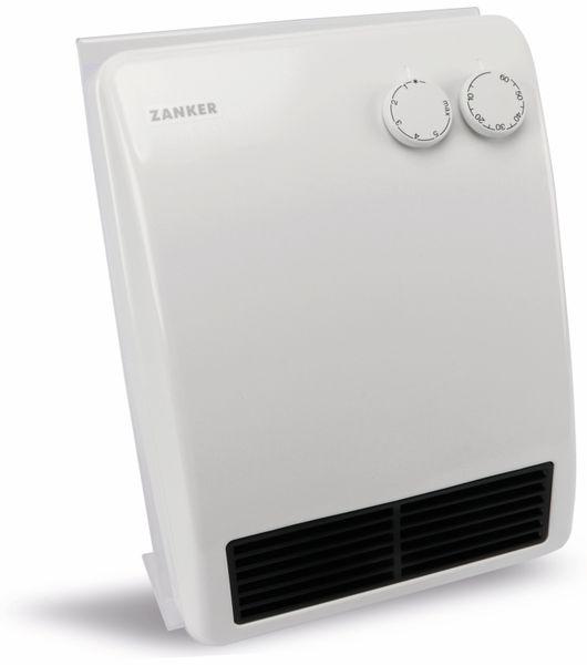 Schnellheizer ZANKER SH 2008 L, 2000 W, weiß - Produktbild 1
