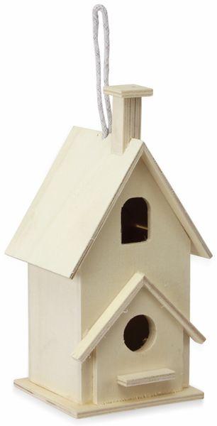 Vogelhaus, Holz, 125x200x85 mm
