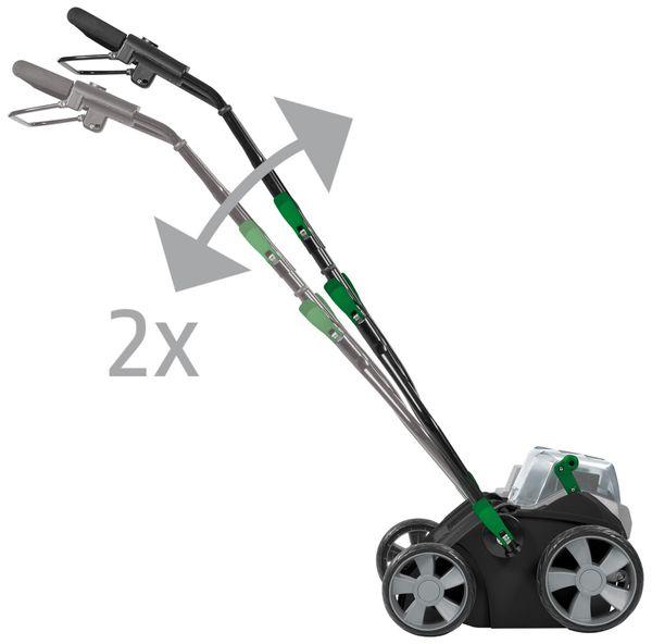 Akku-Vertikutierer GARDOL GAV-E 40 Li Solo, Power X-Change kompatibel - Produktbild 8