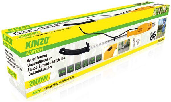 Unkrautbrenner KINZO Premium 2000W - Produktbild 3