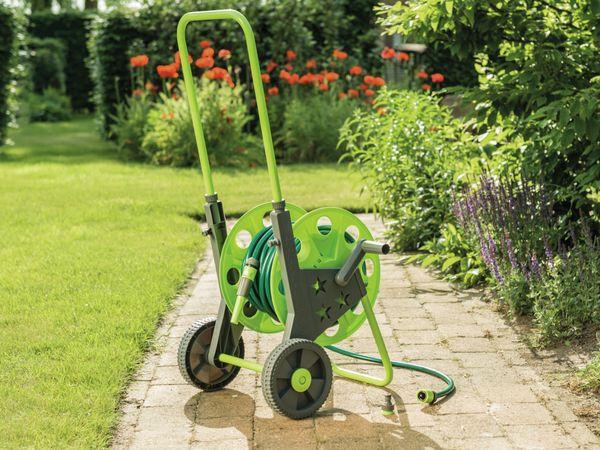 Gartenschlauch Aufroller freistehend mit 30 m Gartenschlauch - Produktbild 6