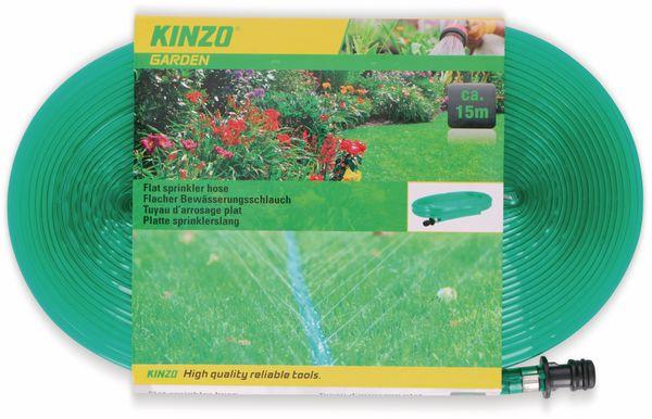 Flacher Bewässerungsschlauch, KINZO, 15 m - Produktbild 2