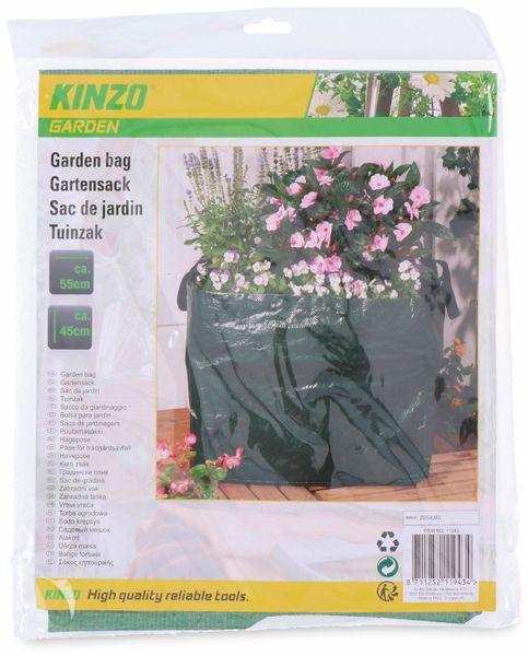 Garten-Abfallsack KINZO, 90 Liter, 550x450 mm - Produktbild 2