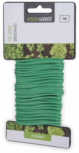 Pflanzenband, 10 m, grün, 2 mm