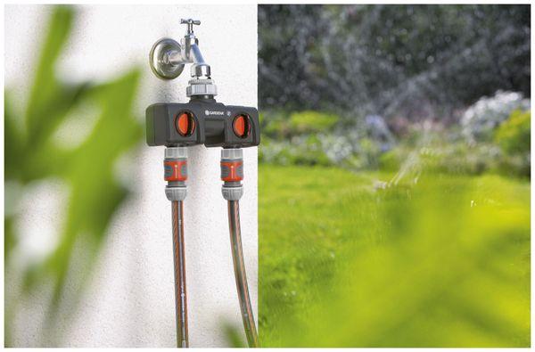 """2-Wege-Verteiler GARDENA 8193-20, 33,3 mm (G 1""""), 26,5 mm (G 3/4"""") - Produktbild 2"""
