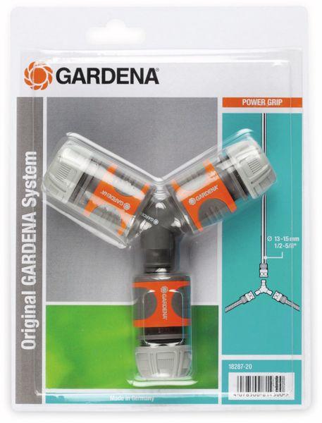 """Schnellkupplung Y-Verteiler GARDENA 18287-20, 13 mm (1/2""""), 15 mm (5/8"""")"""
