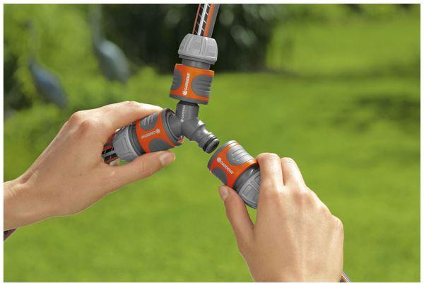 """Schnellkupplung Y-Verteiler GARDENA 18287-20, 13 mm (1/2""""), 15 mm (5/8"""") - Produktbild 2"""