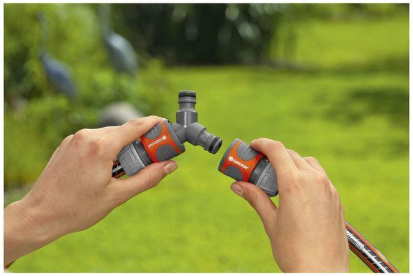"""Schnellkupplung Y-Verteiler GARDENA 18287-20, 13 mm (1/2""""), 15 mm (5/8"""") - Produktbild 4"""