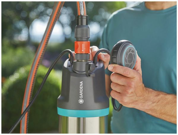Tauch-Druckpumpe GARDENA 5900/4 inox, 900 W, edelstahl - Produktbild 8