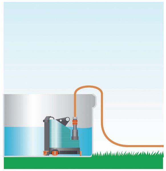 Tauchpumpe GARDENA 9000 aquasensor, 320 W - Produktbild 4
