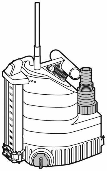 Tauchpumpe GARDENA 9000 aquasensor, 320 W - Produktbild 5