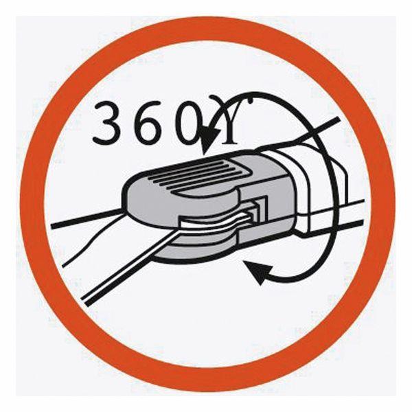 Grasschere Classic GARDENA 8731-30, 360° drehbar - Produktbild 5