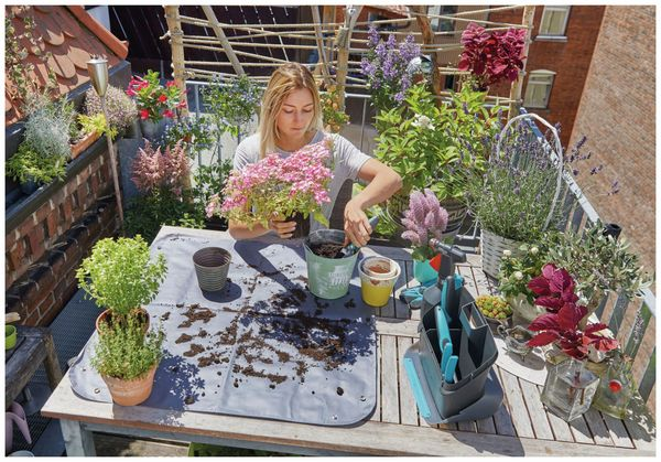 Pflanzmatte city gardening GARDENA 00505-20, Größe S, 800x800 mm - Produktbild 6