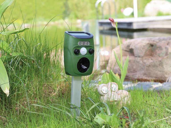 Ultraschall-Tierscheuche CHILITEC, UTS Solar Pro, mit Bewegungsmelder - Produktbild 4