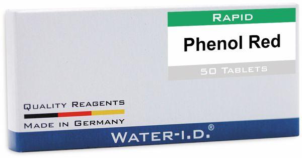 Tabletten WATER-ID Phenol Rot für FlexiTester, 50 Stück
