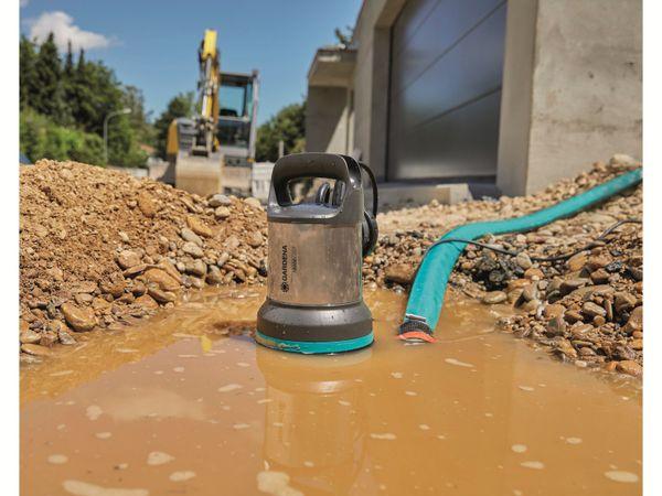 Tauchpumpe GARDENA 9042-20, Schmutzwasser, 450 W, 16.000 l/h - Produktbild 2