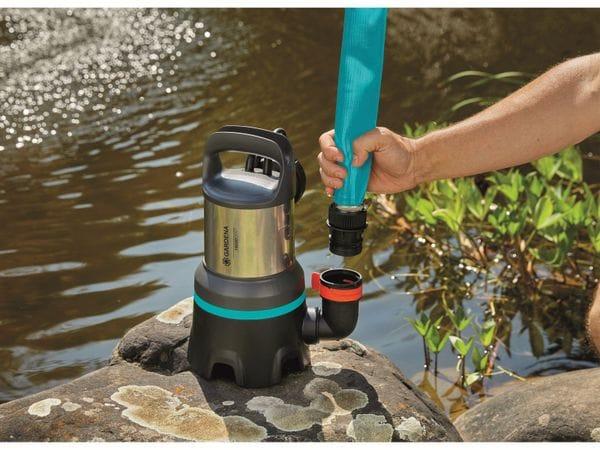 Tauchpumpe GARDENA 9042-20, Schmutzwasser, 450 W, 16.000 l/h - Produktbild 4