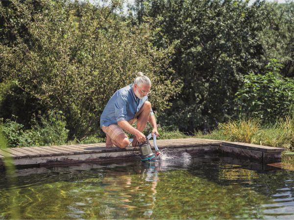 Tauchpumpe GARDENA 9044-20, Aquasensor, Schmutzwasser, 750 W, 20.000 l/h - Produktbild 2
