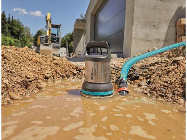 Tauchpumpe GARDENA 9044-20, Aquasensor, Schmutzwasser, 750 W, 20.000 l/h - Produktbild 4