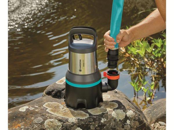 Tauchpumpe GARDENA 9044-20, Aquasensor, Schmutzwasser, 750 W, 20.000 l/h - Produktbild 7