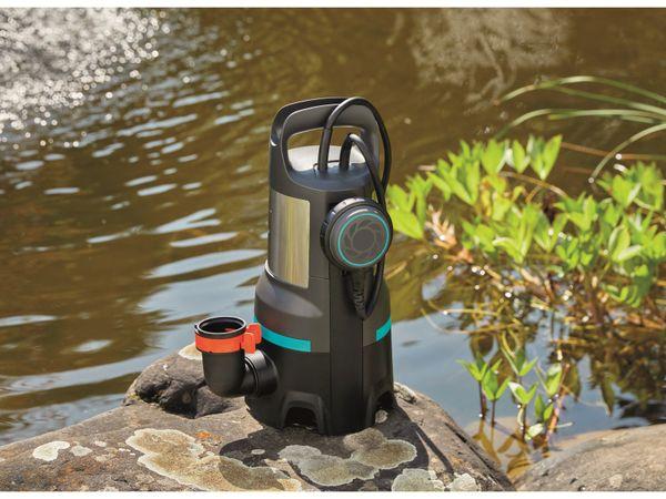 Tauchpumpe GARDENA 9046-61, Schmutzwasser, 1100 W, 25.000 l/h - Produktbild 2